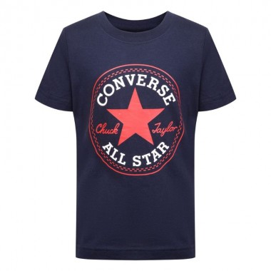 Converse Chuck Patch T-shirt obsidian/red  kids