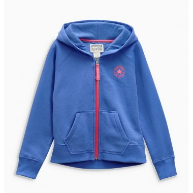Converse Zip Through Hoody Blue