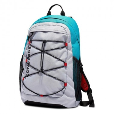 CONVERSE SWAP OUT BACKPACK - WOLF GREY/TURBO GREEN/ENAMEL RED