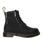 1460 ZIP NAPPA LEATHER LACE UP BOOTS