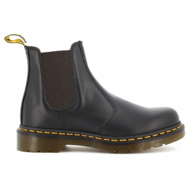 2976 YELLOW STITCH SMOOTH LEATHER CHELSEA BOOTS