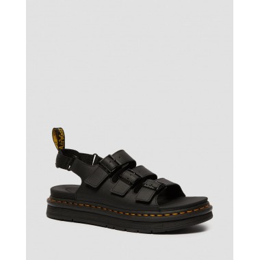SOLOMAN LEATHER STRAP SANDALS