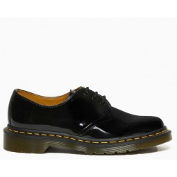 1461 WOMEN'S PATENT LEATHER OXFORD SHOES Black