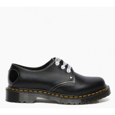 1461 HEARTS SMOOTH & PATENT LEATHER SHOES