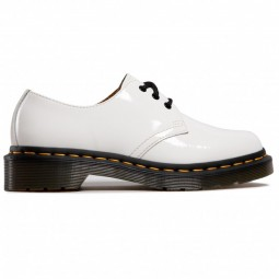 1461 WOMEN'S PATENT LEATHER OXFORD SHOES White