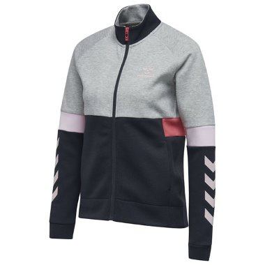 HMLMEDUSA ZIP JACKET Grey