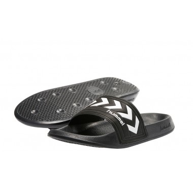 LARSEN Slipper Hummel Black/White