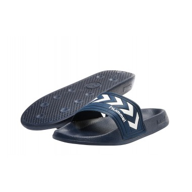 LARSEN  Slipper Hummel Navy/White