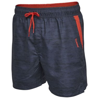 DETROIT SHORTS Navy/Red