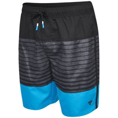 LINUS Shorts Black/Grey/Blue
