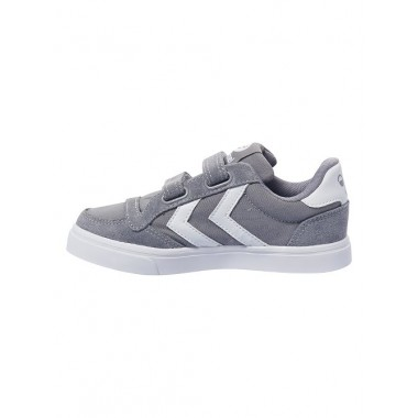 Kids Stadil Canvas Mono Low JR Frost Grey