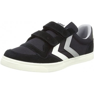 Kids Stadil Canvas Duo Low JR Black