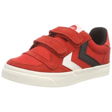 Kids Stadil Canvas Duo Low JR Fiery Red