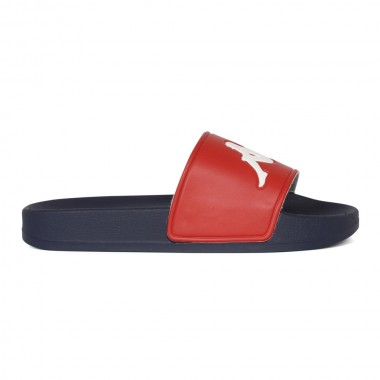 Kappa Unisex Horizontal Sandals Red/Navy