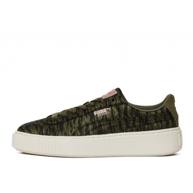 "Puma Basket Platform VR WN's ""Olive Night"""