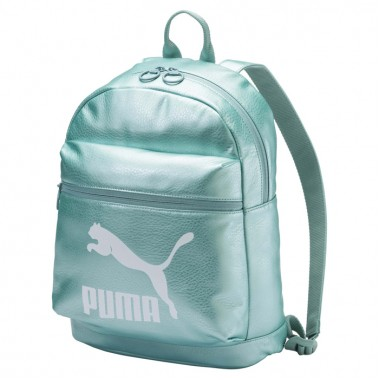 Prime Backpack Metallic Green