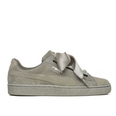 PUMA Basket Heart Pebble Cappuchino
