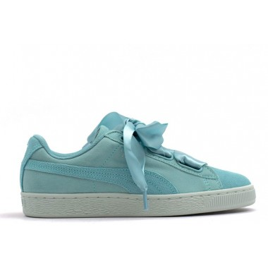 PUMA Basket Heart Pebble Baby Blue