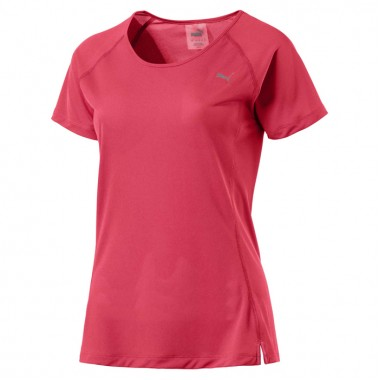 Core Run Tee Red