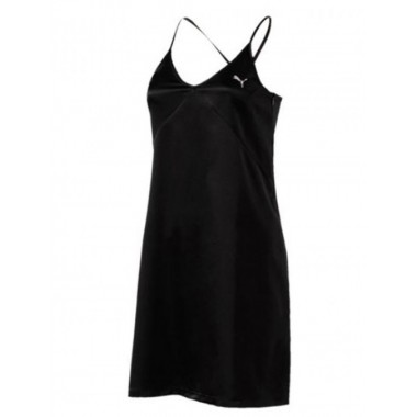PUMA En Pointe Satin Dress Black