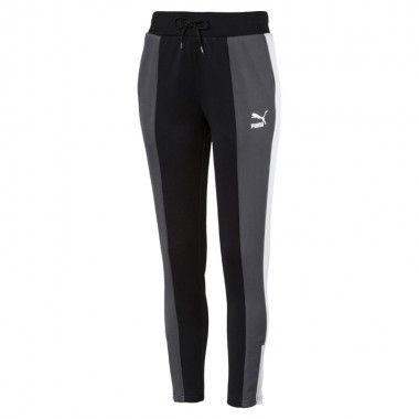 PUMA Retro Track Pant Black/Grey/White