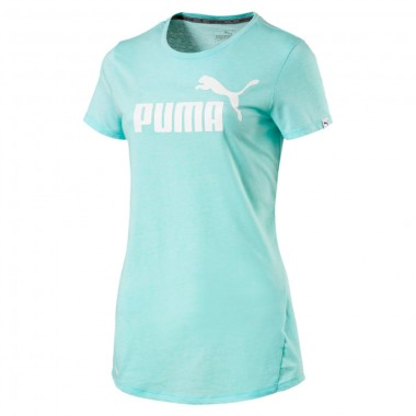 PUMA ESS No.1 Tee Heather Mint