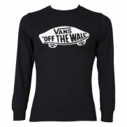 Vans Off The Wall long sleeves  t-shirt Black