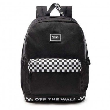 Backpack VANS - WM SPORTY REALM PLUS Black/White