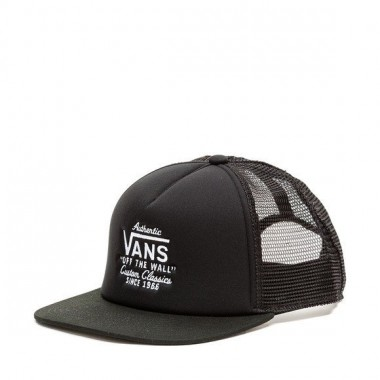 VANS Classic Patch Trucker Black White