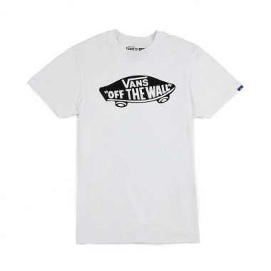 Vans Off The Wall Logo T-shirt White