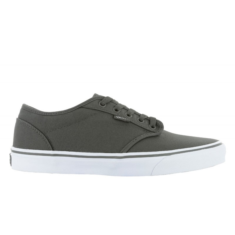 3598b533044 Mens Vans Atwood Canvas Gray White