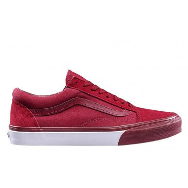 Vans Spring Men's Shoes Old Skool Red