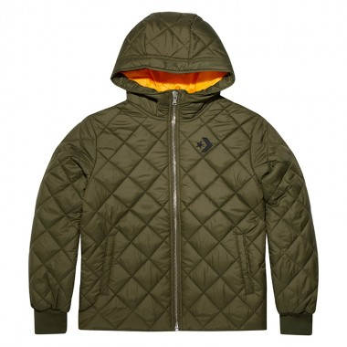 Women Quilted Poly Puffer