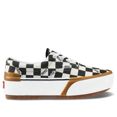 Checkerboard Era Stacked Shoes