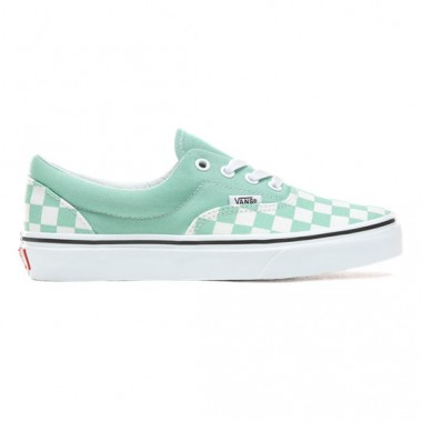 Checkerboard Era Shoes | Green | Vans