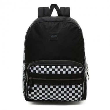 DISTINCTION II BACKPACK Black-White Checkerboard