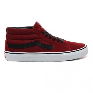 SK8-MID SHOES Biking Red/True White