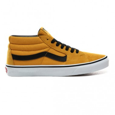 SK8-MID SHOES Mango Mojito/True White