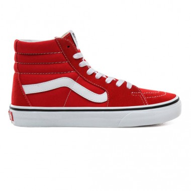 SK8-HI SHOES Racing Red/True White