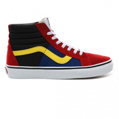 OTW RALLY SK8-HI REISSUE SHOES Chili Pepper/True White