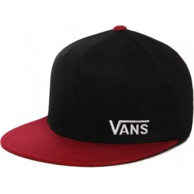 Cap Vans MN SPLITZ Black/RED