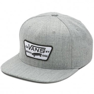 Cap VANS gray MN FULL PATCH SNAPBA