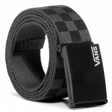 Men's Belt VANS Deppster II Web Black/Charcoal