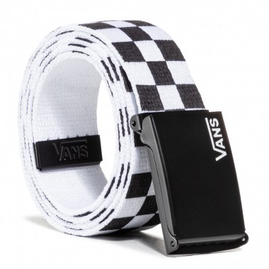 Men's Belt VANS Deppster II Web Black/White