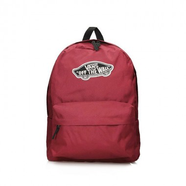 Backpack VANS Realm Bikini Red