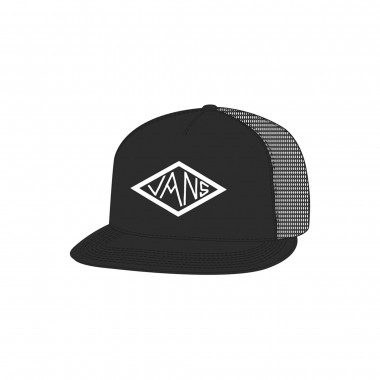 Cap That Diamond Truck Black Black