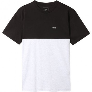 VANS COLORBLOCK BOY T-SHIRT LIGHT GRAY / BLACK