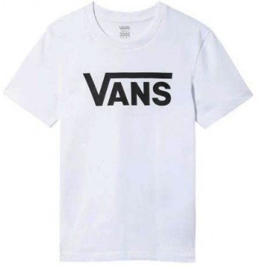 Vans Women FLYING V CREW TEE White