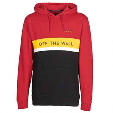 Vans VICTORY PO men's Sweatshirt in Red