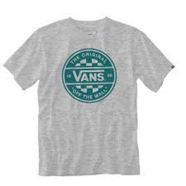 Vans Tee Shirt - Checker Co. II - Ash Heather